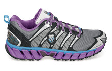 K-Swiss Blade-Max Trail Women&#039;s charcoal/neon violet/neon blue